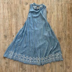 Lightweight Denim Dress Size M
